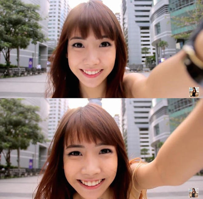 Hot girl Thai Lan xinh xan, nhay dep hinh anh 2 Các bài nhảy của Lita trên Youtube thu hút hàng trăm nghìn lượt view. Fanpage trên Facebook của 9X này đạt hơn 22 nghìn like. Chất riêng trong các video chính là cảnh quay cận mặt bắt đầu lộ gương mặt gần như hoàn hảo. Ảnh: Gamme.