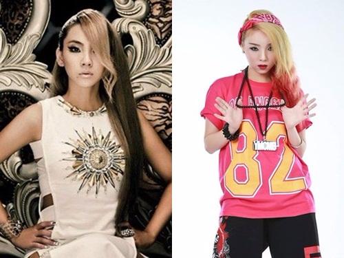 Xuat hien ban sao ca si CL (2NE1) tai Viet Nam hinh anh