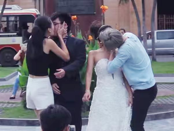 Kiss Cam - trao luu bien tuong cua teen Viet hinh anh