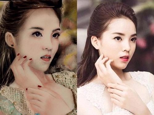 9X ve tranh truyen than hoa hau Ky Duyen song dong nhu that hinh anh