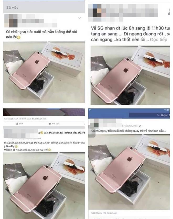 Thanh vien BB&BG len tieng sau khi dang anh iPhone 6S vo nat hinh anh 1