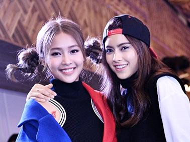 Kha Ngan khoe dang ben hot girl Thai Lan hinh anh