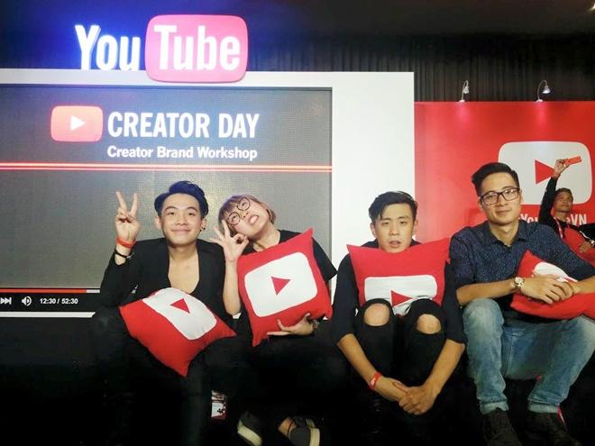 Dan vlogger dinh dam hoi ngo tai su kien cua YouTube hinh anh 1