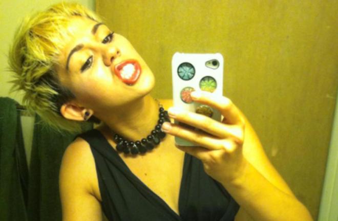 9X bat ngo noi tieng nho giong het Miley Cyrus hinh anh