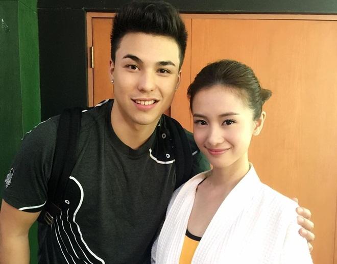 Hot girl Jun Vu va nhung lan hop tac voi ngoi sao Thai Lan hinh anh 2