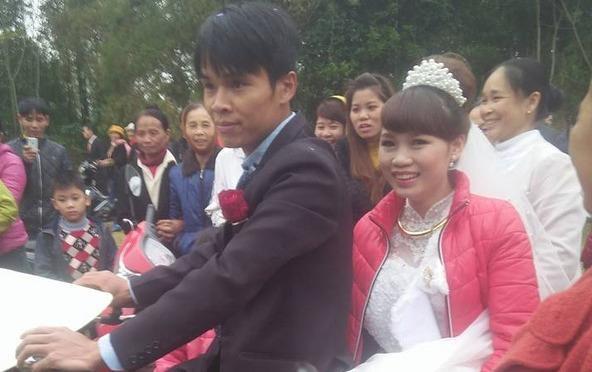 Man ruoc dau bang xe dap doc dao o Thanh Hoa hinh anh