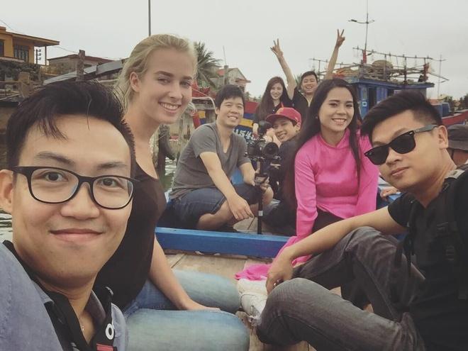 9X lam clip ve canh sac Quang Binh thu hut dan mang hinh anh 3