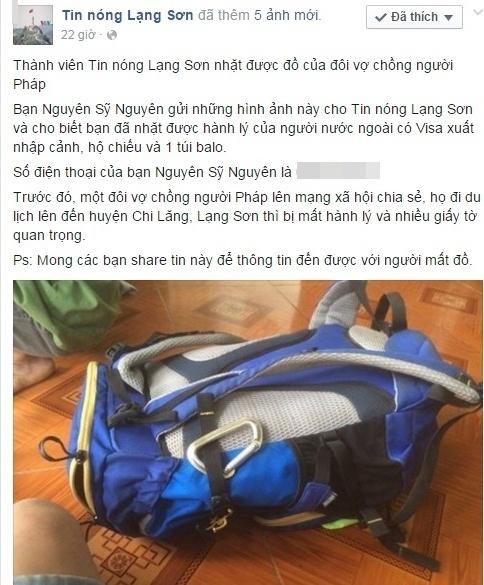 Vo chong Phap tim thay ba lo danh roi nho dan mang Viet hinh anh 2