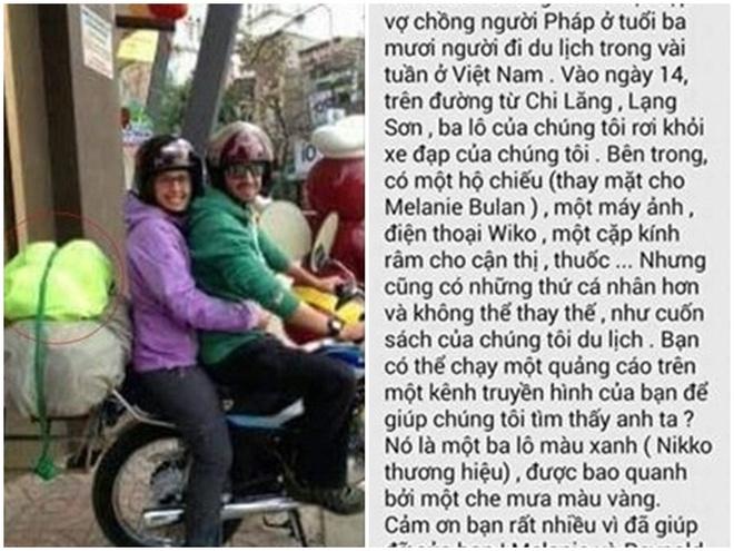 Vo chong Phap tim thay ba lo danh roi nho dan mang Viet hinh anh 1