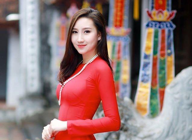 Nu sinh Lao goc Viet xinh dep anh 1