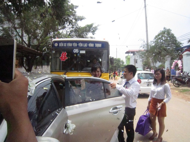 Co hay khong man ruoc dau bang xe buyt o Vinh Phuc? hinh anh 2
