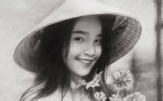 9X Lai Chau ve tranh chan dung song dong nhu that hinh anh