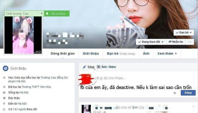 Nu sinh Su pham goi hoi danh ban vi mau thuan tren Facebook hinh anh 2
