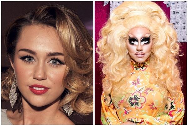 Miley Cyrus muon hop tac voi ngoi sao hoa trang dong tinh hinh anh