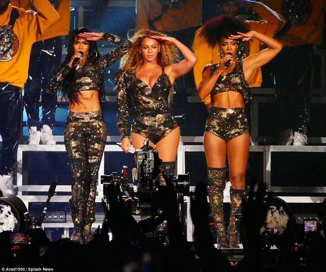 Beyonce tai ngo Destiny's Child sau 12 nam tan ra hinh anh