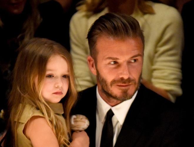 De con gai lai xe khong day an toan, David Beckham bi chi trich hinh anh