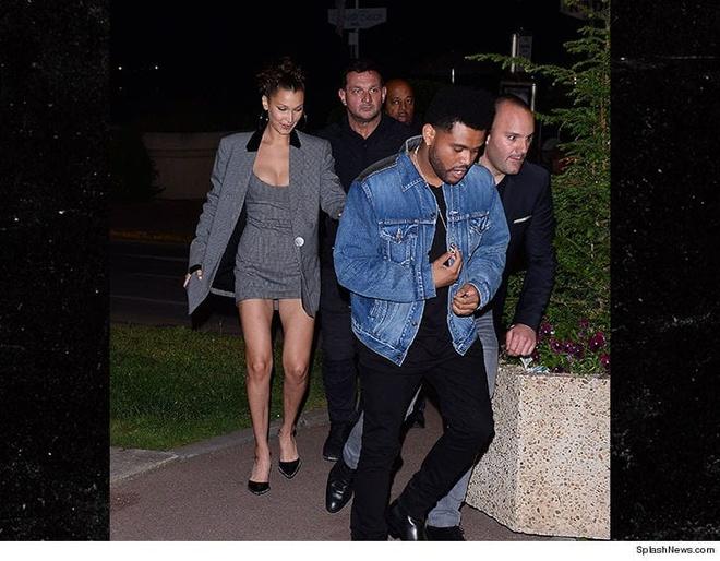 Bella Hadid va The Weeknd hon nhau dam duoi, khang dinh da tai hop hinh anh 2