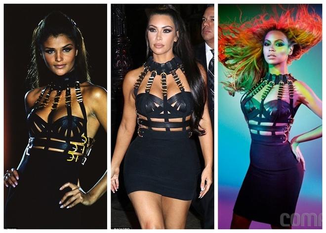 Fan phan doi vi Kim Kardashian sao chep phong cach cua Beyonce hinh anh 1