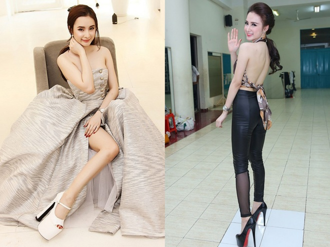Nha Phuong nhap hoi dien giay 20 cm cung dan my nhan Viet hinh anh 3