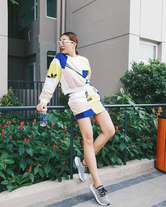 Street style sanh dieu cua huan luyen vien The Face 2018 hinh anh 2