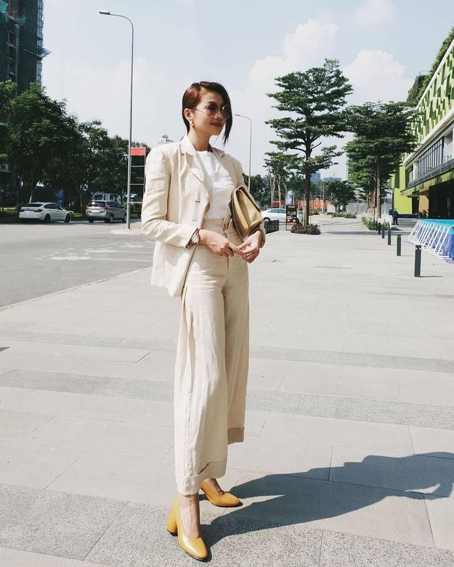 Street style sanh dieu cua huan luyen vien The Face 2018 hinh anh 1