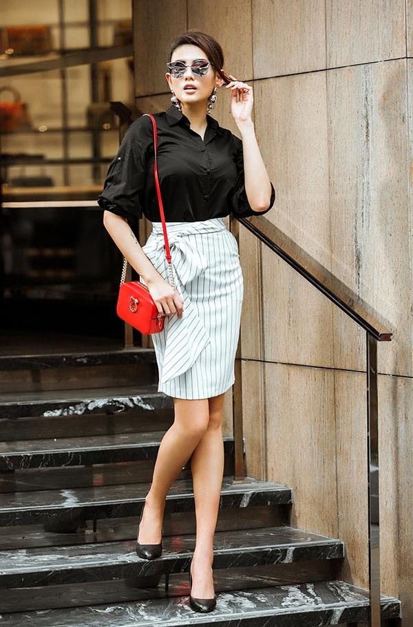 Street style sanh dieu cua huan luyen vien The Face 2018 hinh anh 10