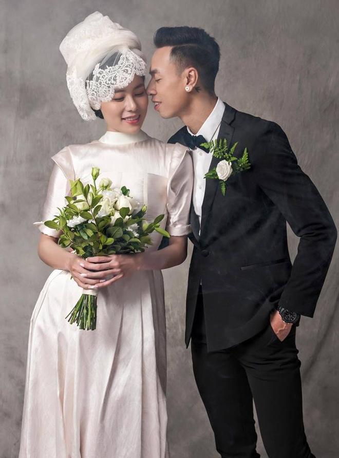 Thi sinh Next Top Model Viet len xe hoa,  sinh con anh 8