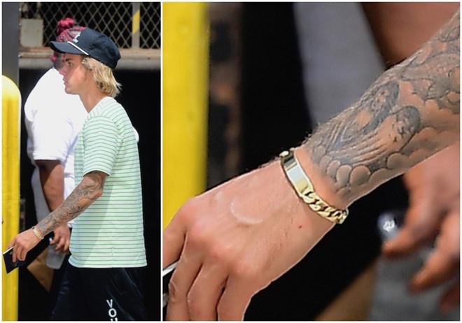 Justin Bieber ve ra mat gia dinh ban gai Hailey Baldwin hinh anh 3