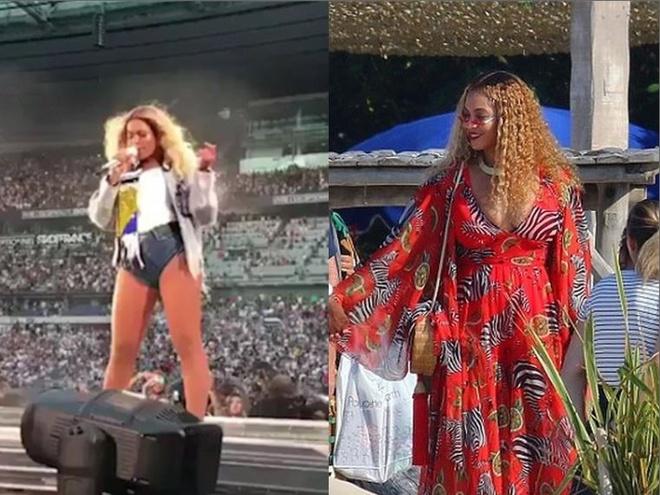 Beyonce bi nghi mang bau con thu 4 sau mot nam sinh doi hinh anh 1