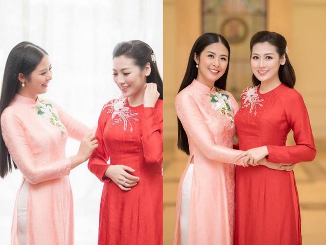 Hoa hau Ngoc Han tu may ao dai cuoi tang A hau Tu Anh hinh anh 2