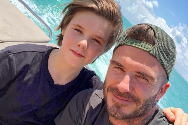 Quy tu nha Beckham: Gay tranh cai van duoc goi 'Justin Bieber thu 2' hinh anh