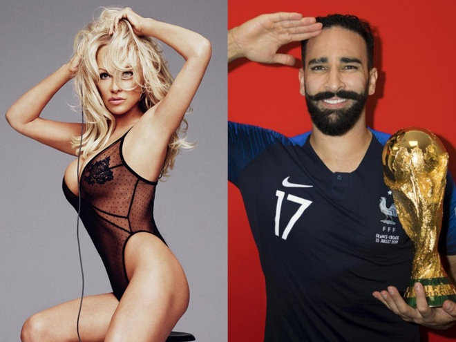 'Bom sex' Pamela Anderson sap ket hon voi cau thu Phap kem 19 tuoi hinh anh 1