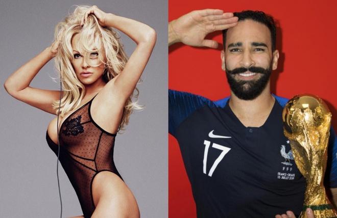 'Bom sex' Pamela Anderson sap ket hon voi cau thu Phap kem 19 tuoi hinh anh