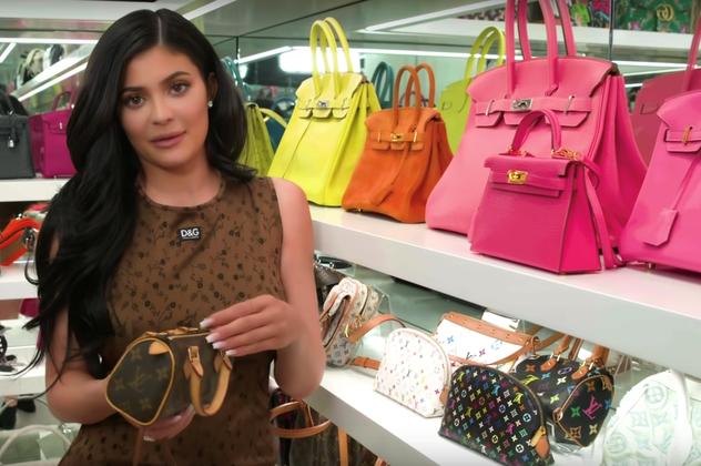 My Purse Closet Tour - Kylie Jenner hinh anh