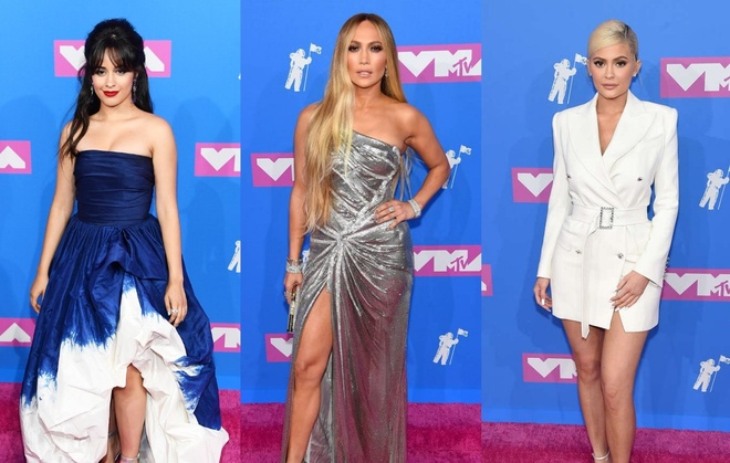 Dan sao long lay tren tham do MTV Video Music Awards 2018 hinh anh