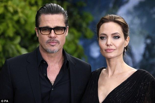 Angelina Jolie va Brad Pitt dat thoa thuan ly hon tam thoi hinh anh