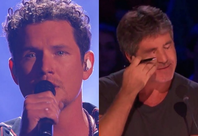 America's Got Talent: Simon Cowell roi le khi nghe ong bo 6 con hat hinh anh