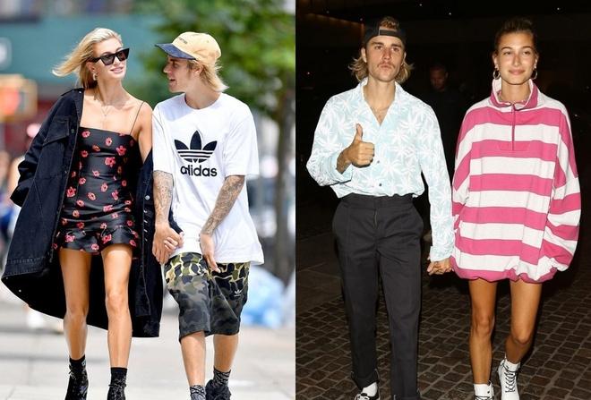 Thoi trang cua Justin Bieber thay doi the nao sau khi dinh hon? hinh anh