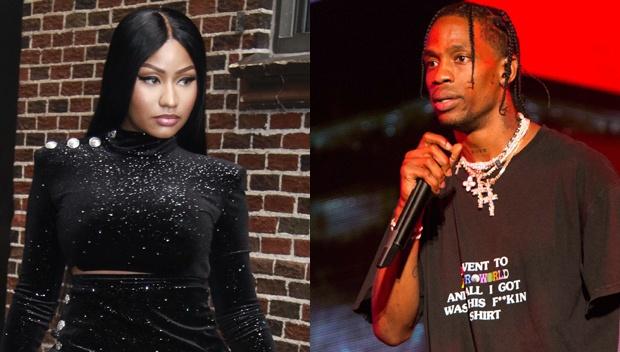 Nicki Minaj muon dam Travis Scott vi su dung Kylie Jenner de PR album hinh anh