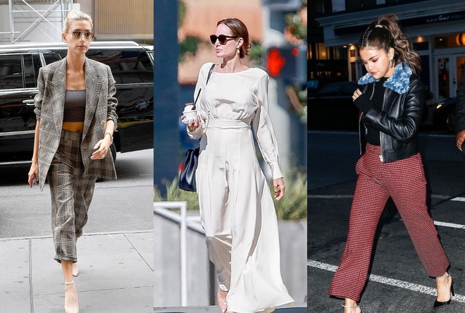 Angelina Jolie, Selena Gomez voi street style tuoi tan tren pho hinh anh