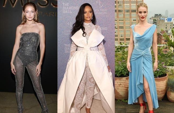 Rihanna, Gigi Hadid lot vao top my nhan the gioi mac dep tuan qua hinh anh