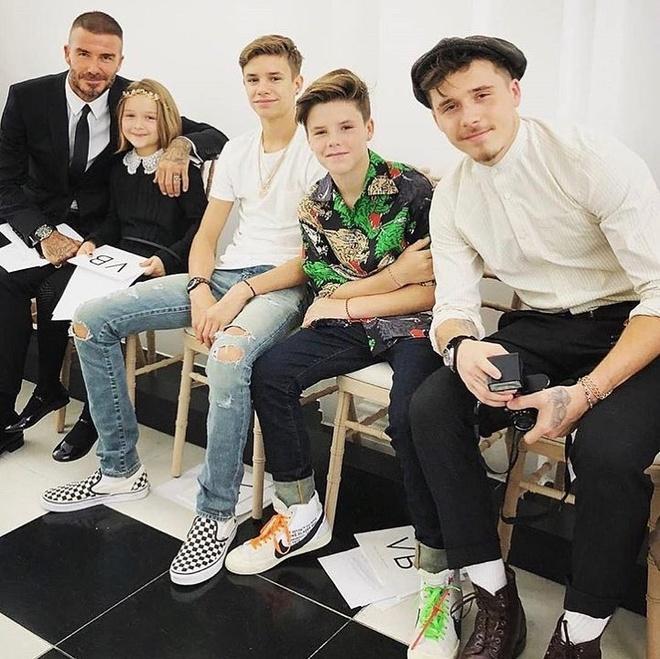 Gia dinh Beckham anh 1