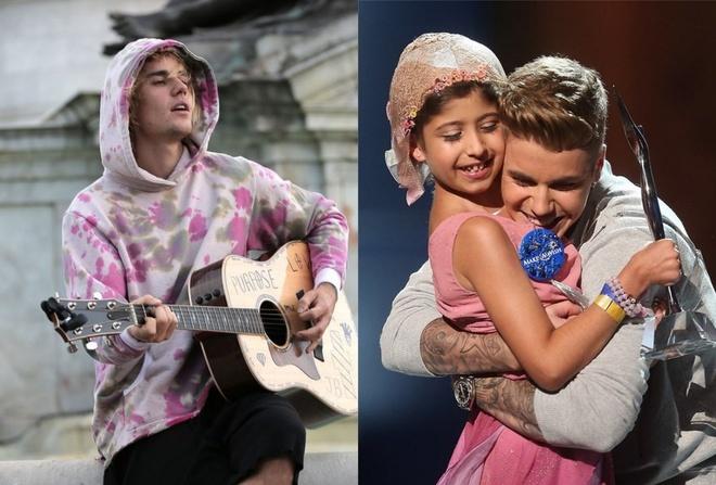 Justin Bieber va nhung khoanh khac ghi diem voi nguoi ham mo hinh anh