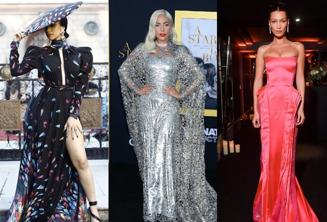 Lady Gaga, Bella Hadid mac co dien dep nhat tuan qua hinh anh