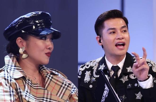 The Face 2018: Thanh Hang phan ung khi Nam Trung nang loi voi thi sinh hinh anh