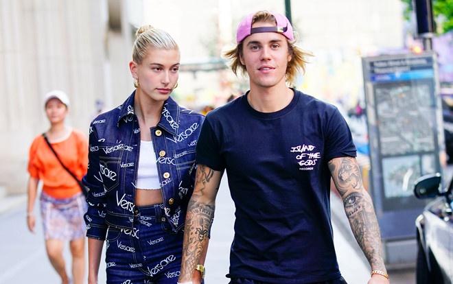 Hailey Baldwin muon co con voi Justin Bieber hinh anh