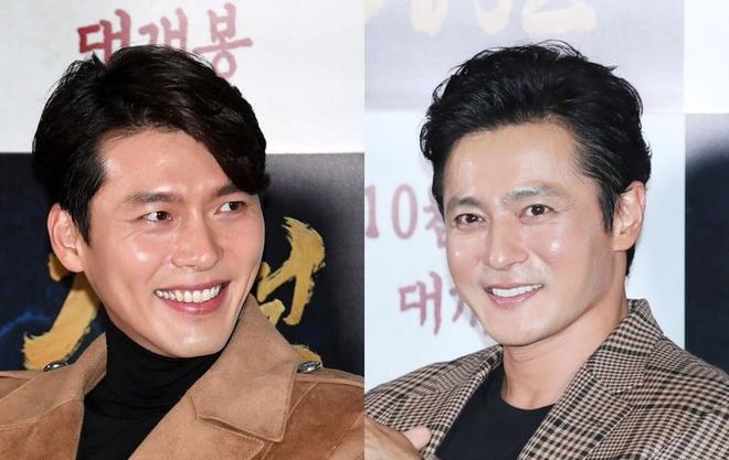 Hyun Bin, Jang Dong Gun mat diem vi guong mat bong nhay tai su kien hinh anh