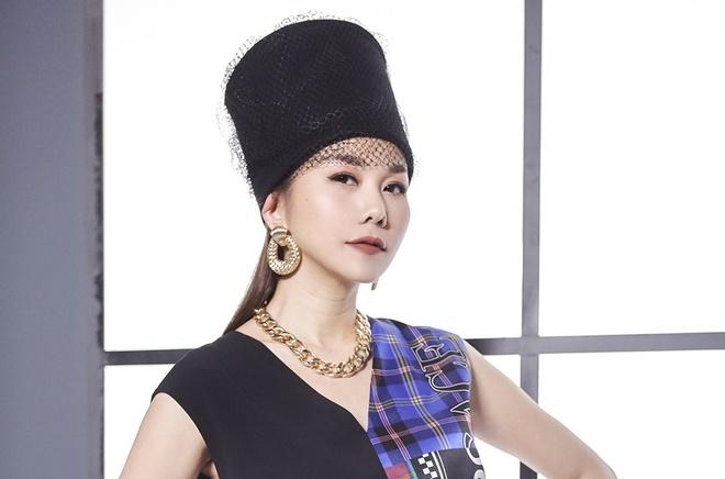 Thanh Hang phu ngap hang hieu, mac pha cach tai The Face hinh anh