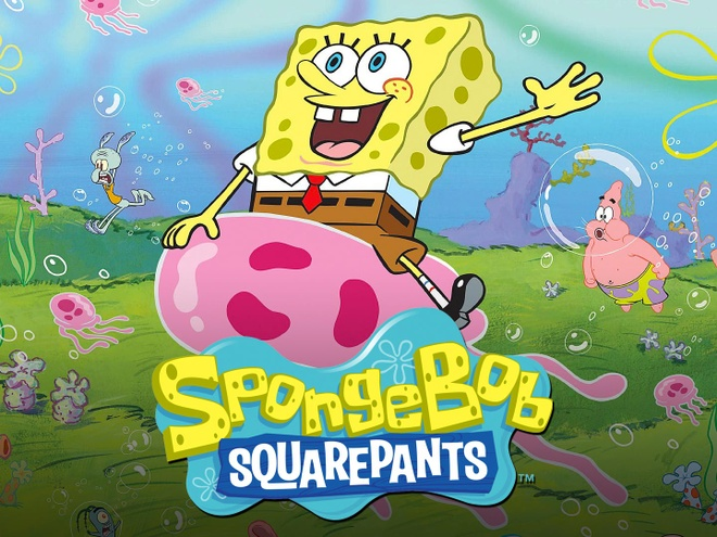 Cha de SpongeBob Squarepants qua doi anh 2