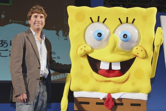 Cha de SpongeBob Squarepants qua doi anh 1